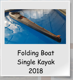 Folding BoatSingle Kayak2018