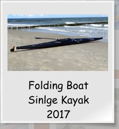 Folding Boat Sinlge Kayak 2017